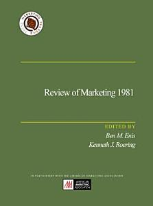 Review of Marketing 1981 PDF