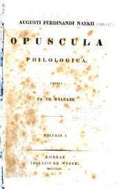 Opuscula philologica