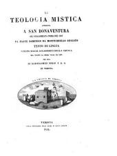 La Teologia mistica attribuita a san Bonaventura