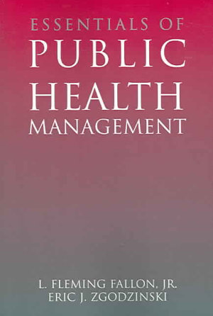 Essentials of Public Health Management PDF