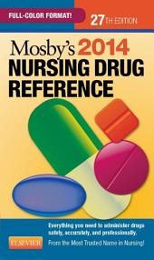 Mosby's 2014 Nursing Drug Reference - E-Book: Edition 27