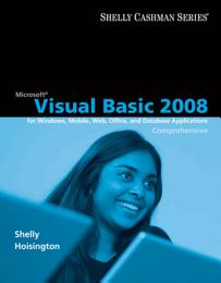 Microsoft Visual Basic 2008: Comprehensive Concepts and Techniques