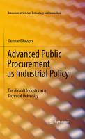 Advanced Public Procurement as Industrial Policy PDF