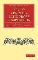 Key to Arnold s Latin Prose Composition PDF