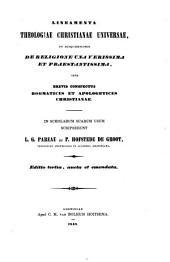 Lineamenta theologiae christianae universae