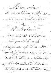 Memoria de los baños y aguas minero-medicinales de Jabalcúz, provincia de Jaén, correspondiente á la temporada oficial de 1899 escrita y presentada por el doctor D. Mariano Salvador y Gamboa, medico-director en propiedad de los mismos