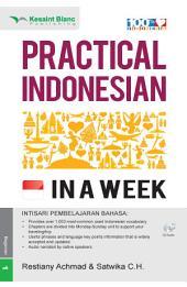 Practical Indonesian in a Week