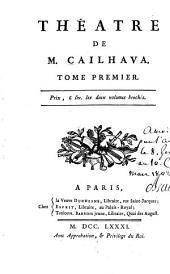 Théâtre de m. Cailhava ...