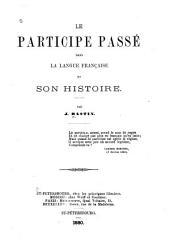 Le participe passé dans la langue française et son histoire