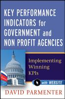 Key Performance Indicators for Government and Non Profit Agencies PDF
