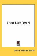 Trout Lore (1917)