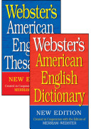Webster s American English Dictionary Thesaurus Shrink Wrapped Set