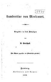 Lambertine von Mericourt