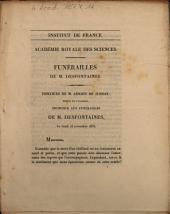 Funérailles de M. Desfontaines: discours de M. Adrien de Jussieu ... le lundi 18 novembre 1833
