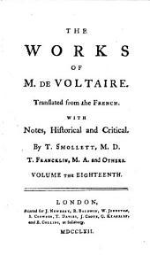 The works of M. de Voltaire: Volume 23