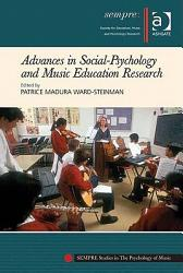 Advances In Social Psychology And Music Education Research Book PDF