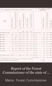Annual Report of the Forest Commissioner of the State of Maine: Volume 2
