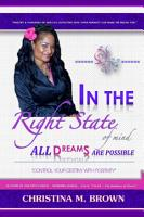 In The Right State of Mind   All Dreams Are Possible PDF