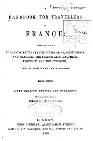 A Handbook for Travellers in France PDF