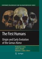 The First Humans PDF