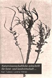 Naturwissenschaftliche zeitschrift für forst- und landwirtschaft...: Band 5