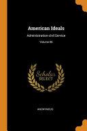 American Ideals
