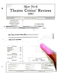National Theatre Critics  Reviews PDF