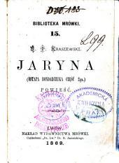 Jaryna: (Ostapa Bondarczuka część 2ga.) : powieść