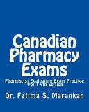 Canadian Pharmacy Exams  Pharmacist Evaluating Exam Practice Vol 1 2018 PDF