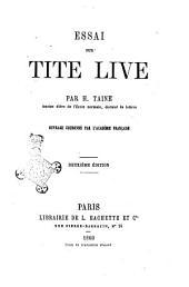 Essai sur Tite Live par H. Taine