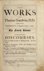 The Works of T. G. [With Preface to Vol. 1. by T. Owen and J. Barron.]