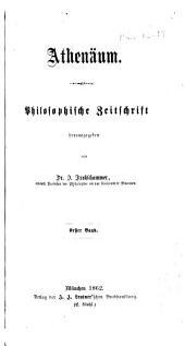 Athenäum: philosophische Zeitung, Band 1