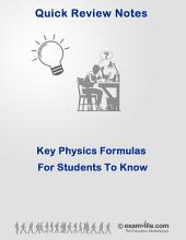 Key Physics Formulas for Students To Know