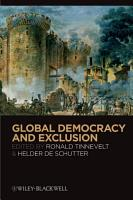 Global Democracy and Exclusion PDF