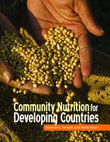 Community Nutrition for Developing Countries PDF