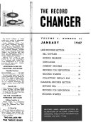 The Record Changer Book PDF