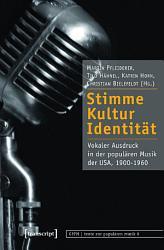 Stimme  Kultur  Identit  t PDF