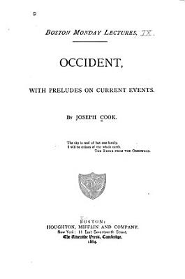 Occident  with Preludes on Current Events PDF