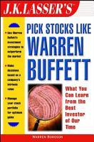 J K  Lasser s Pick Stocks Like Warren Buffett PDF