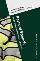 Parts of Speech PDF