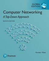 Computer Networking  A Top Down Approach  Global Edition PDF