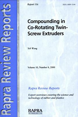 Compounding in Co-Rotating Twin-Screw Extruders