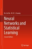 Neural Networks and Statistical Learning PDF