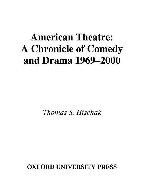 Download American Theatre Book