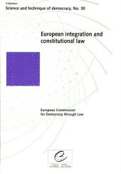 European Integration and Constitutional Law