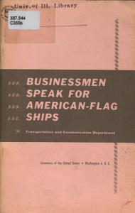 Businessmen Speak for American flag Ships PDF