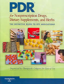 PDR for Nonprescription Drugs  Dietary Supplements and Herbs PDF