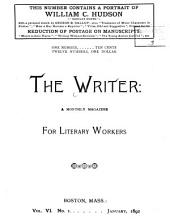 The Writer: Volume 6
