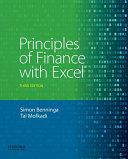 Principles of Finance with Excel PDF