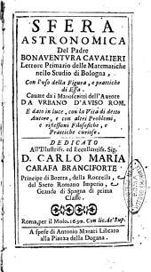 Sfera astronomica del padre Bonaventura Cavalieri